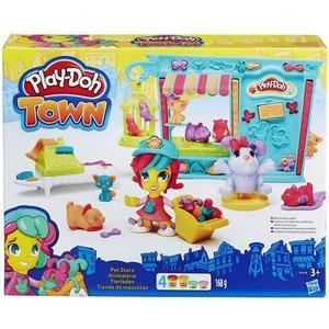 Игровой набор Hasbro Play-Doh ГородМагазинчик домашних питомцев (B3418) игрушка hasbro play doh other games a8752121