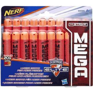 Игрушка Hasbro Nerf Мега 20 стрел (B0085)