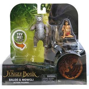 Игрушка Jungle Book Книга джунглей 2 фигурки в блистере Балу и Маугли (23255B)