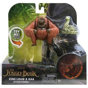 Игрушка Jungle Book Книга джунглей 2 фигурки в блистере Король Луи и Каа (23255C)