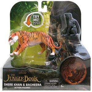 Игрушка Jungle Book Книга джунглей 2 фигурки в блистере Шерхан и Багира (23255A)