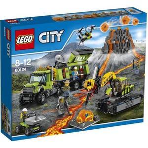 Игрушка Lego Город База исследователей вулканов (60124) lego 60139 город мобильный командный центр