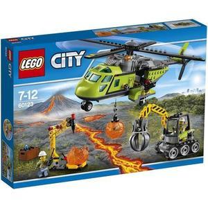 Игрушка Lego Город Грузовой вертолёт исследователей вулканов (60123)