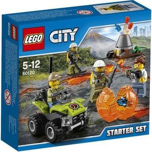 Игрушка Lego Город Набор для начинающих Исследователи Вулканов (60120) lego 60139 город мобильный командный центр
