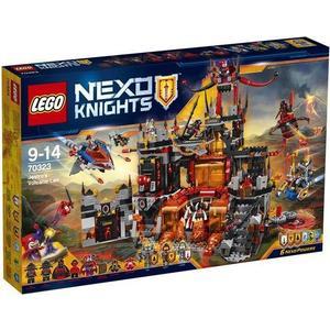Игрушка Lego Нексо Логово Джестро (70323) конструктор lego nexo логово джестро 1188 элементов 70323