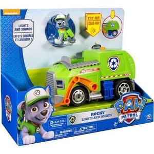 Игрушка Paw Patrol большой автомобиль спасателей со звуком и светом (16637) dwcx 2pcs motorcycle front rear brake pads for suzuki rm125 rm250 honda cr125r xr250r yamaha yz125 kawasaki kx500 for suzuki