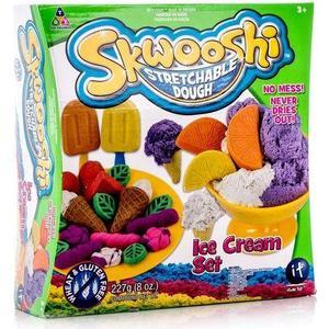 Набор для творчества Skwooshi Мороженое - масса для лепки и аксессуары (S30024) skwooshi набор для лепки с аксессуарами бургер