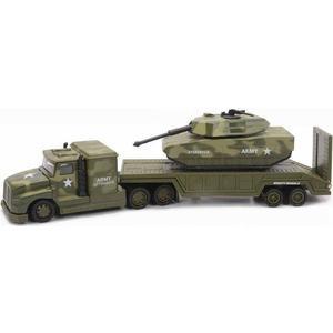 Игрушка Soma военный перевозчик танк 28 см (78558) машины mighty wheels soma военный перевозчик танк 28 см