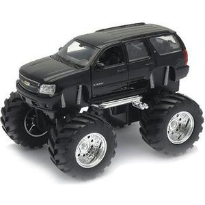 Игрушка Welly модель машины 134-39 Chevrolet Tahoe Big Wheel (47002) игрушка welly модель машины карьерный самосвал 99612