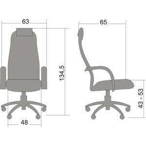 Кресло Метта BK-8 PL № 22 сетка