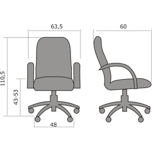 Кресло Метта CP-1 PL № 19
