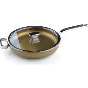Сковорода с крышкой d 28 см Zanussi Capri (ZCU51231DF) zanussi сковорода capri 28х5 см