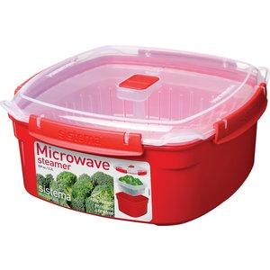Контейнер для хранения квадратный Sistema Microwave 3.2 л (1103)