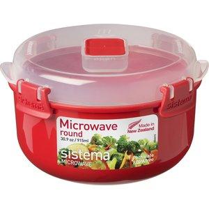 Контейнер для хранения круглый Sistema Microwave 0.915 л (1113)