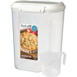 Контейнер для хранения с чашкой Sistema Bake it 3.25 л (1250)