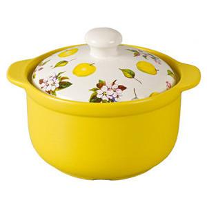 Кастрюля 3.5 л Едим Дома Narino Ломбардия (CS2313-LV) кастрюля керамическая едим дома narino ломбардия с крышкой цвет желтый белый 3 5 л