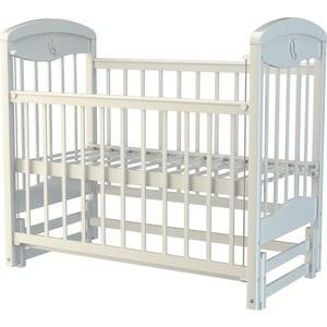 Кроватка Briciola Briciola-2 маятник продольный автоматический белая кроватка кубаночка 2 продольн маятник ящик белая