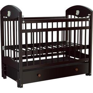 Кроватка Briciola Briciola 3 маятник продольный ящик автоматическая темная кроватка кубаньлесстрой василек ящик маятник продольный белый би 09 3