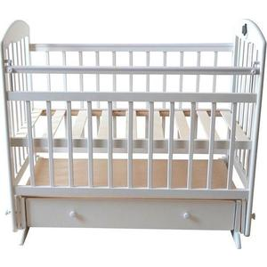 Кроватка Briciola Briciola-8 маятик поперечный ящик автоматическая слоновая кость