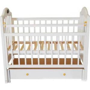 Кроватка Briciola Briciola-10 маятник продольный ящик автоматическая белая кроватка briciola briciola 14 маятник поперечный без ящика белая br1401