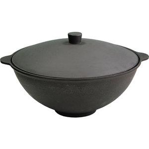 Чаша азиатская чугунная с крышкой 6 л Вековые традиции (960) сковорода жаровня d 28 см вековые традиции 781
