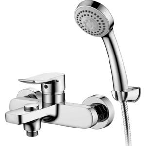 Смеситель Elghansa Hezerley для ваны, с душем, хром (2365246) смеситель hezerley для умывальника однорычажный хром elghansa 1665246
