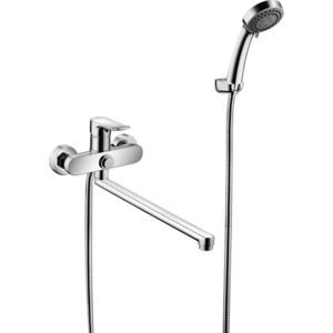Смеситель Elghansa Hezerley для ваны, с душем, хром (5365246) смеситель для ванны коллекция hezerley 5365246 однорычажный хром elghansa эльганза