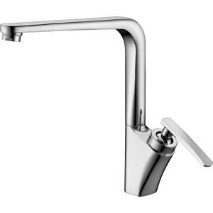 Смеситель Elghansa Kitchen для кухни, хром (5605981) chrome finish brass kitchen sink faucet two spouts spring kitchen mixer tap 2 spouts kitchen water tap