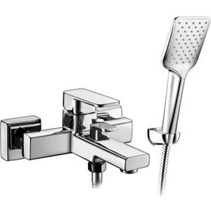 Смеситель Elghansa Mondschein для ваны, с душем, хром (2320235) смеситель elghansa mondschein для биде хром 4620235