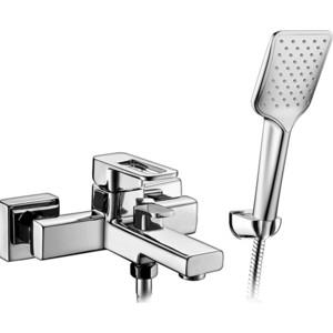 Смеситель Elghansa Mondschein New для ваны, с душем, хром (2320233) смеситель elghansa mondschein для биде хром 4620235