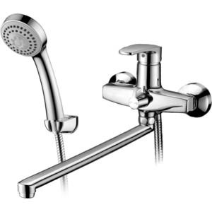 Смеситель Elghansa Monica для ваны, с душем, хром (5322319)  смеситель для ванны коллекция monica 5322319 white однорычажный белый elghansa эльганза