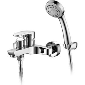 Смеситель Elghansa Monica New для ваны, с душем, хром (2322519) смеситель для ванны коллекция monica 5322319 white однорычажный белый elghansa эльганза