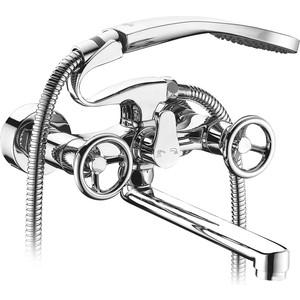 Смеситель Elghansa New Wave Sigma для ваны, с душем, хром (2707595-20) смеситель для ванны коллекция new wave sigma 2707595 двухвентильный хром elghansa эльганза