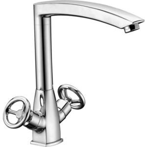 Смеситель Elghansa New Wave Sigma для кухни, хром (5907595) смеситель для ванны коллекция new wave sigma 2707595 двухвентильный хром elghansa эльганза