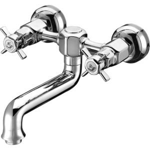 Смеситель Elghansa Praktic для кухни, хром (3522660) смеситель для ванны коллекция hezerley 5365246 однорычажный хром elghansa эльганза