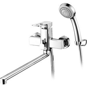 Смеситель Elghansa Scarlett New для ваны, с душем, хром (5322245)  смеситель для ванны коллекция scarlett 5322245 однорычажный хром elghansa эльганза
