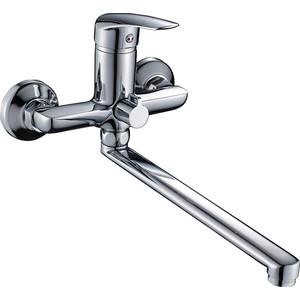 Смеситель Elghansa Wieden для ваны, с душем, хром (5370909)  смеситель для ванны коллекция wieden 5370909 однорычажный хром elghansa эльганза