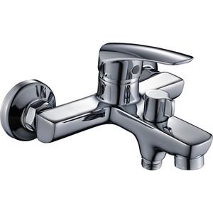 Смеситель Elghansa Wieden для ваны, с душем, хром (2370909)  смеситель для ванны коллекция wieden 5370909 однорычажный хром elghansa эльганза