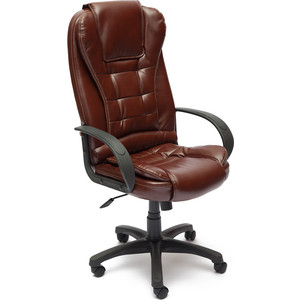 Кресло TetChair BARON ST кож/зам коричневый 2 TONE