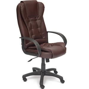 Кресло TetChair BARON ST кож/зам коричневый 36-36