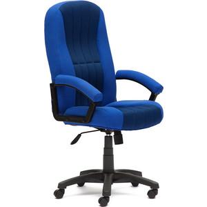 Кресло TetChair СН888 ткань/сетка синий/синий 2601/10 shishi синий