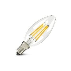 Филаментная светодиодная лампа X-flash XF-E14-FL-C35-4W-2700K-230V Артикул 48632