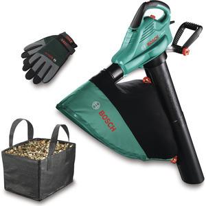 Садовый пылесос-воздуходувка Bosch ALS 25 + сумка + перчатки