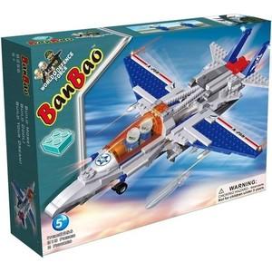 Конструктор Banbao Истребитель 314 деталей (8256пц) cogo конструктор строительных блоков в военной серии малозаметный бомбардировщик истребитель 400 деталей 13351