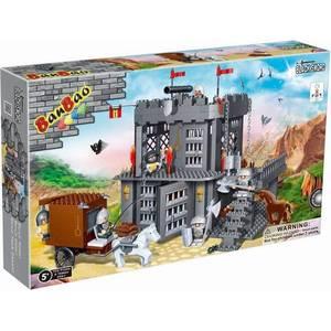 Конструктор Banbao Замок 705 деталей 53х35х7см (8261пц) конструкторы banbao замок 550 деталей