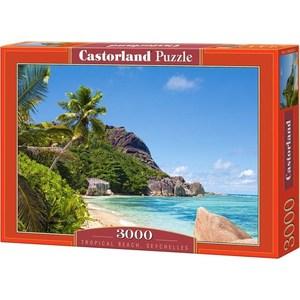 Пазл Castorland 3000 Пляж Сейшелы (C3000-300228)