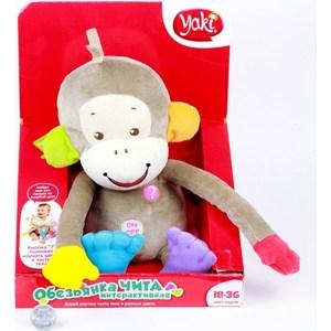 Фотография товара игрушка мягкая YAKI Обезьяна Чита интерактивная мягконабивная (139) (577124)