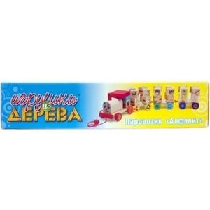 Мир деревянных игрушек Паровозик Алфавит (Д222)