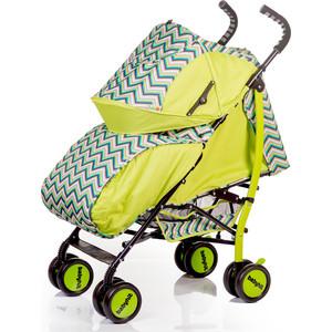 Коляска трость Baby Hit Smiley зеленый с зигзагом