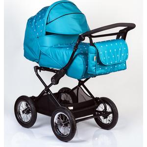 Коляска трансформер BabyHit Evenly Light Голубой с белыми звёздочками коляска 2 в 1 babyhit evenly plus бежевый evenly plus beige